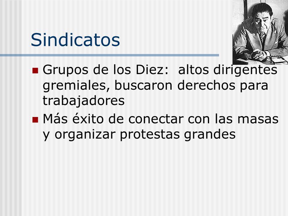 La Iglesia: màs Acciones Ayudó a unir muchas grupos distintos Augosto 1985--Cardenal Juan Fransico Fresno logró a 11 partidos politicos a firmar al Ac