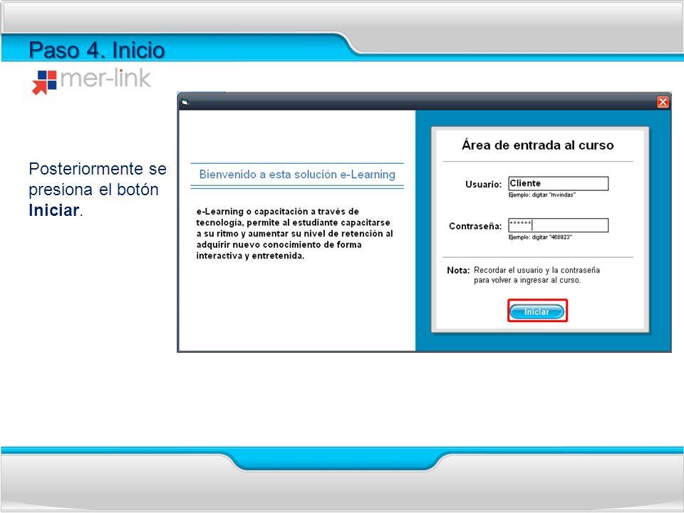 Paso 5.Confirmación Se muestra un mensaje que señala que el usuario no existe.
