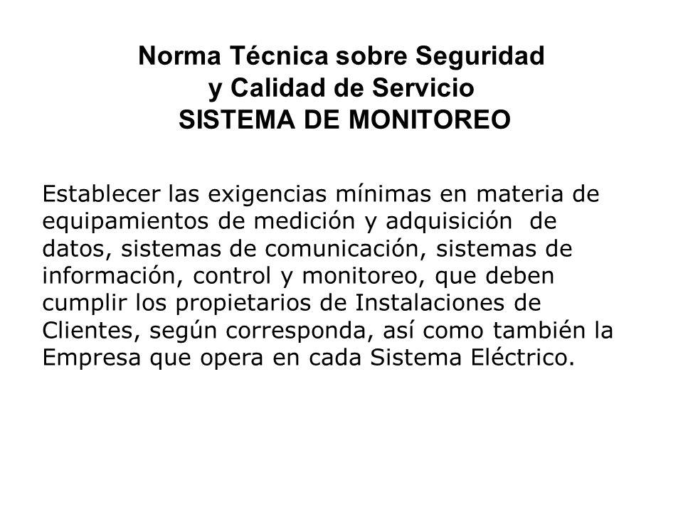 Los índices calidad son afectados principalmente por fallas del sistema eléctrico, ya sea interno o externo.