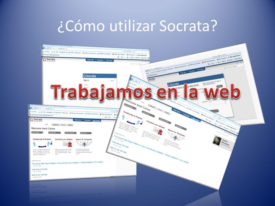¿Cómo utilizar Socrata?