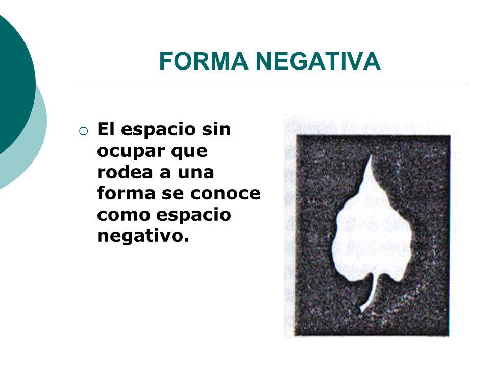 Licdo.Dip. Freddy R Castro Acosta FORMA NEGATIVA El espacio sin ocupar que rodea a una forma se conoce como espacio negativo.