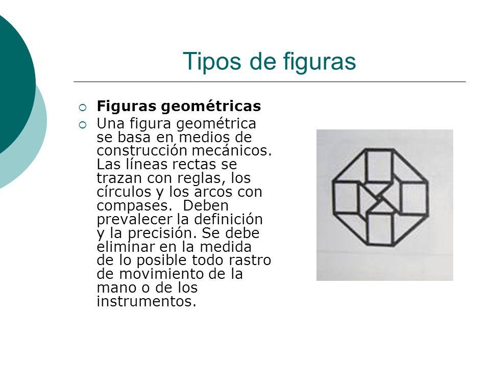 Licdo.Dip. Freddy R Castro Acosta Figuras geométricas Una figura geométrica se basa en medios de construcción mecánicos. Las líneas rectas se trazan c