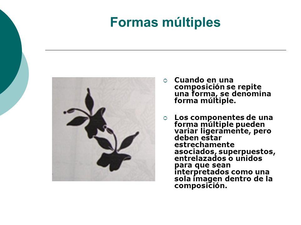 Licdo.Dip. Freddy R Castro Acosta Formas múltiples Cuando en una composición se repite una forma, se denomina forma múltiple. Los componentes de una f