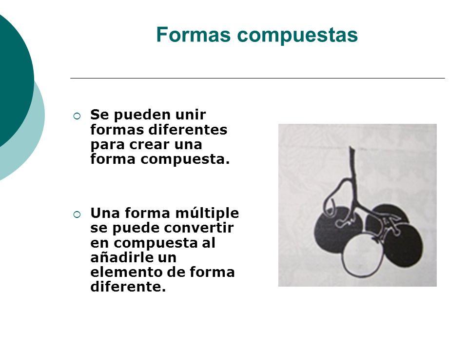 Licdo.Dip. Freddy R Castro Acosta Formas compuestas Se pueden unir formas diferentes para crear una forma compuesta. Una forma múltiple se puede conve