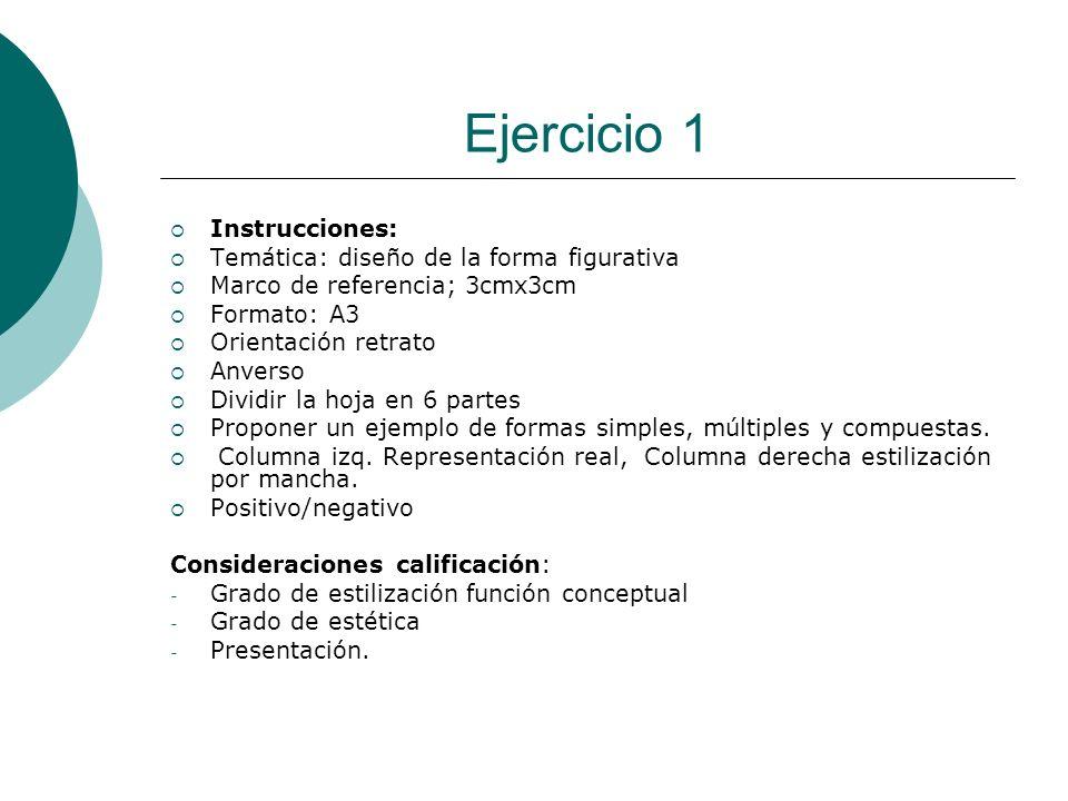 Licdo.Dip. Freddy R Castro Acosta Ejercicio 1 Instrucciones: Temática: diseño de la forma figurativa Marco de referencia; 3cmx3cm Formato: A3 Orientac