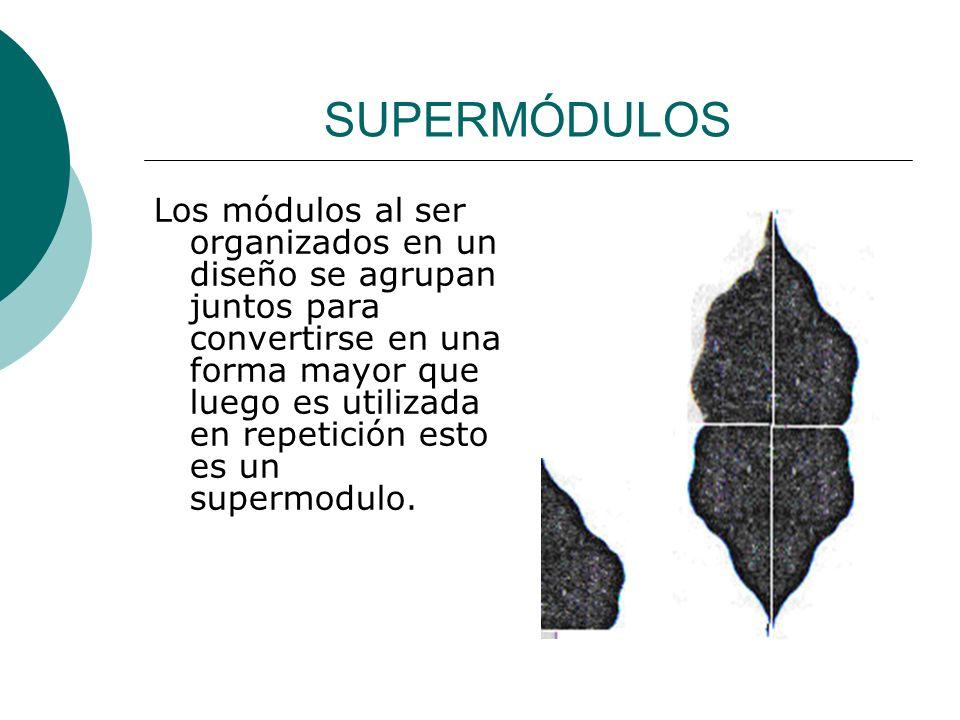 Licdo.Dip. Freddy R Castro Acosta SUPERMÓDULOS Los módulos al ser organizados en un diseño se agrupan juntos para convertirse en una forma mayor que l
