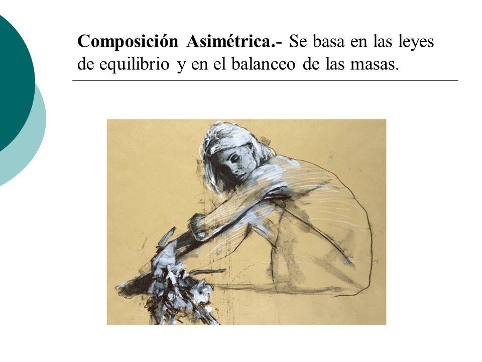 Licdo.Dip. Freddy R Castro Acosta Composición Asimétrica.- Se basa en las leyes de equilibrio y en el balanceo de las masas.