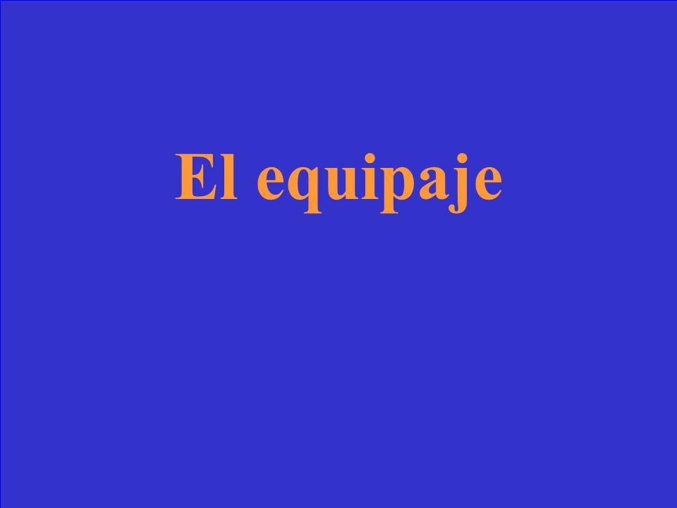 ¿Cómo se dice luggage en español