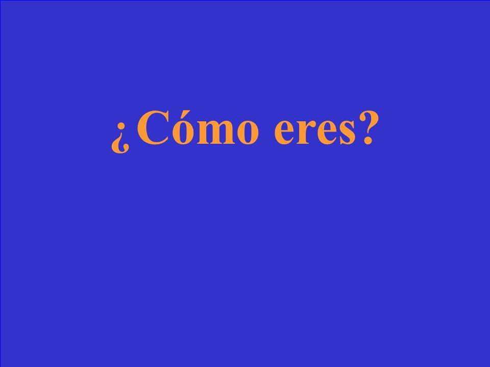 (Yo) Soy de ____.