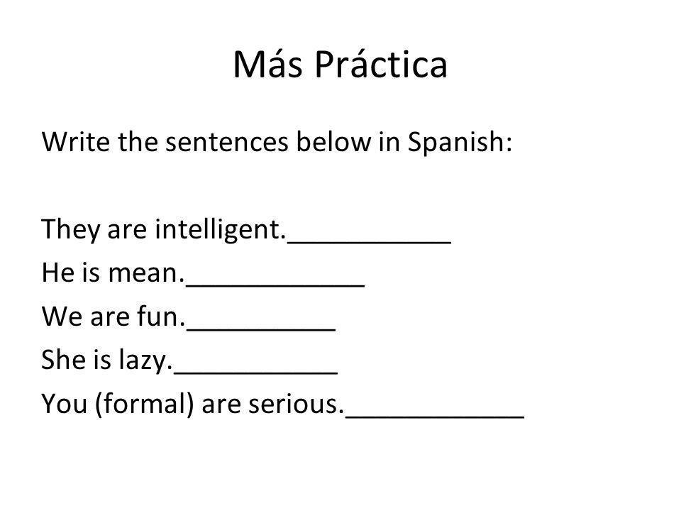 Adjectives Moreno/a- Rubio/a- Pelirrojo/a-