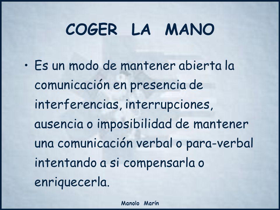 Manolo Marín Es un modo de mantener abierta la comunicación en presencia de interferencias, interrupciones, ausencia o imposibilidad de mantener una c