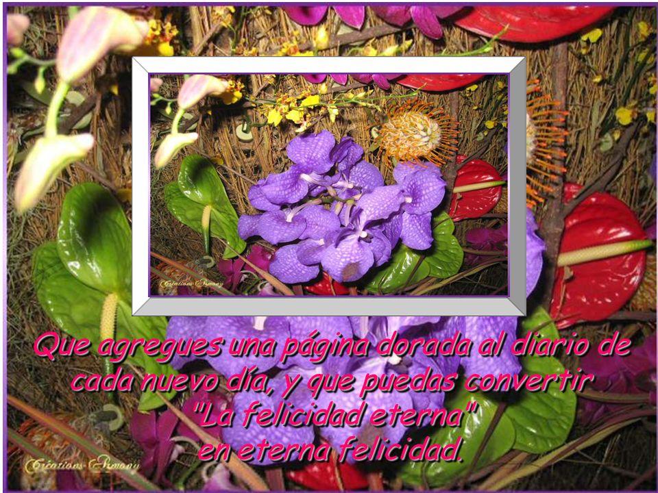 www.vitanoblepowerpoints.net Que agregues una página dorada al diario de cada nuevo día, y que puedas convertir La felicidad eterna en eterna felicidad.
