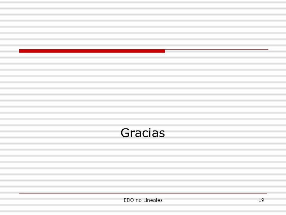 EDO no Lineales19 Gracias