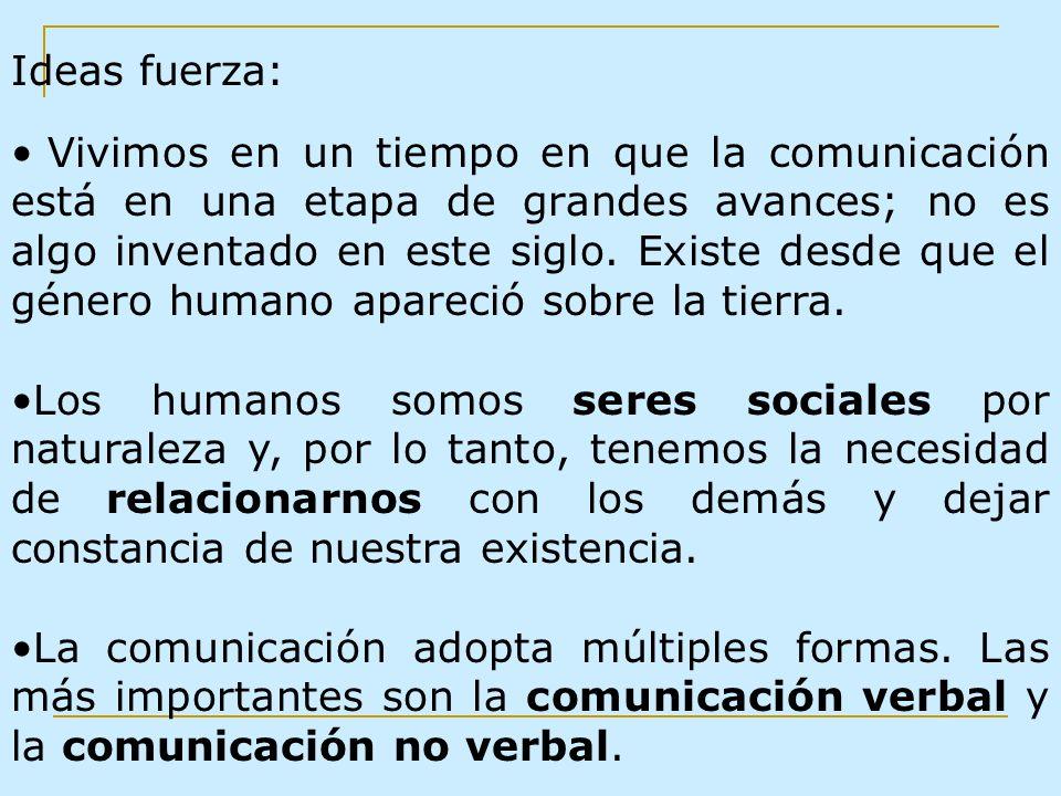 La comunicación verbal La comunicación verbal puede realizarse de dos formas: oral: a través de signos orales y palabras habladas o escrita: por medio de la representación gráfica de signos.