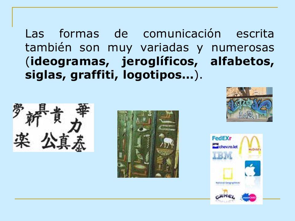La comunicación no verbal Una imagen vale más que mil palabras En nuestro tiempo cada vez tienen más importancia los sistemas de comunicación no verbal.