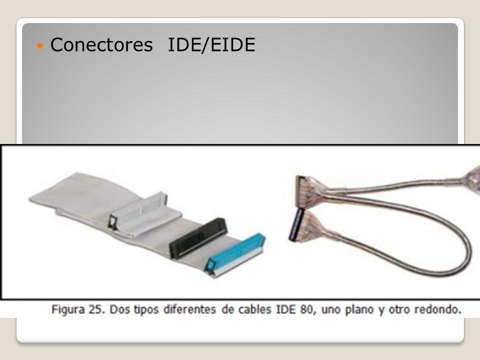 Conectores IDE/EIDE