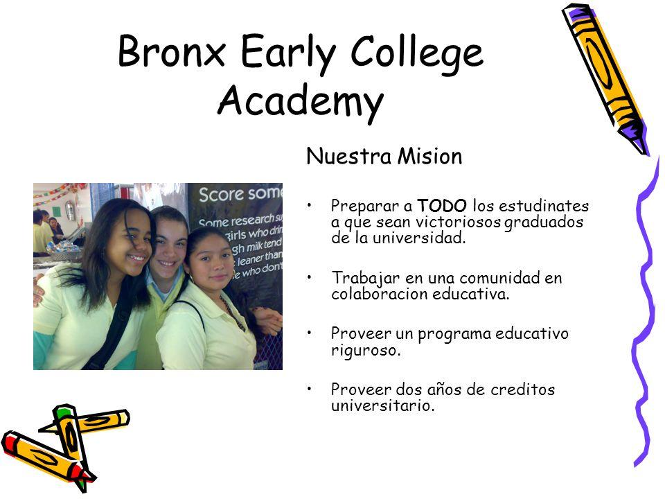 Bronx Early College Academy Nuevo estudios de investigacion revelan que hay un amplio margen entre las aspiraciones de ir a colegio y la realidad,especialmente para las personas de bajo ingrezos in las minorias.