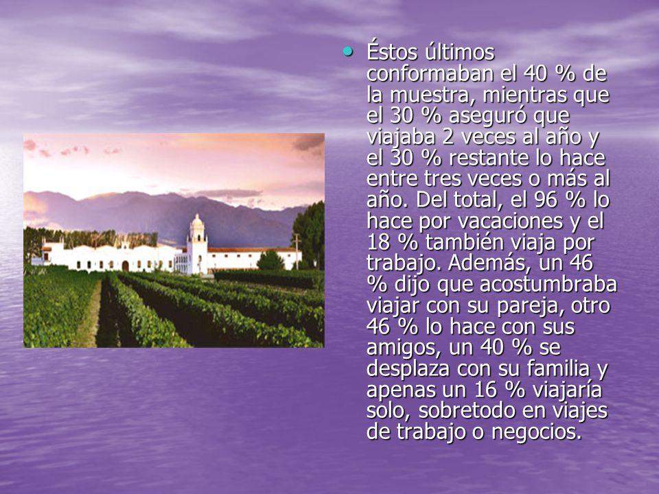 Las conclusiones del trabajo señalan que a partir de 2001 hubo una disminución en al cantidad de argentinos que viajan al extranjero.