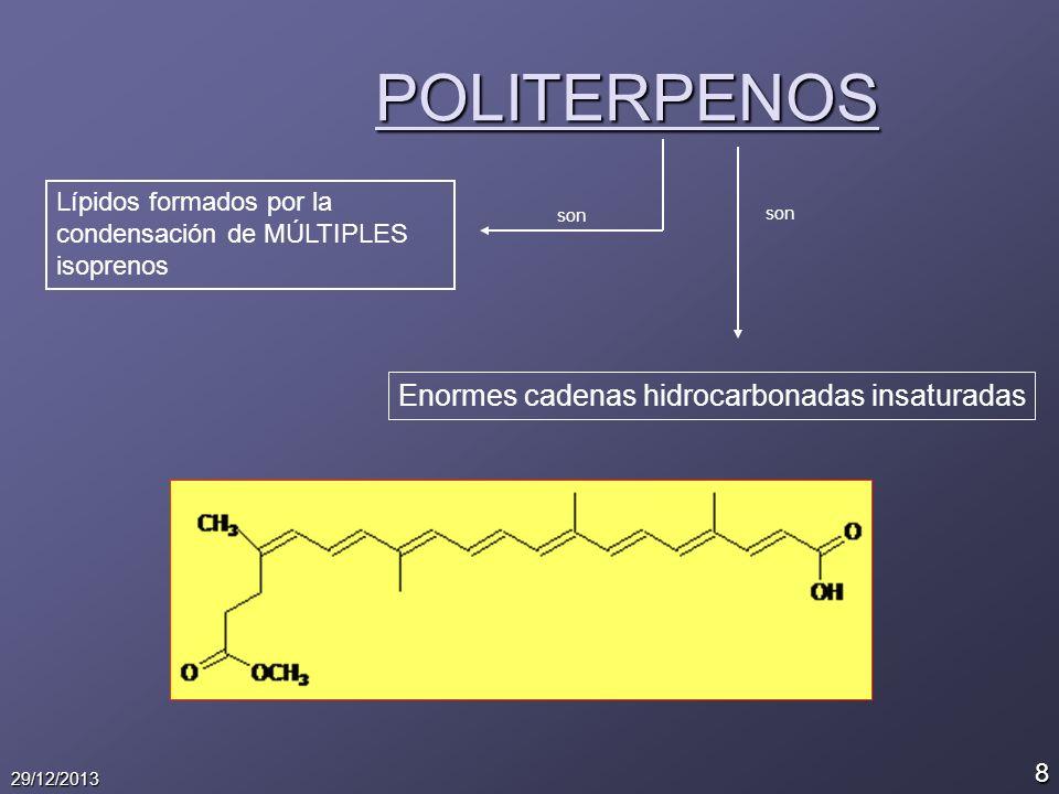 9 29/12/2013 ESTEROIDES Derivados del CICLOPENTANOPERHIDROFE NANTRENO.