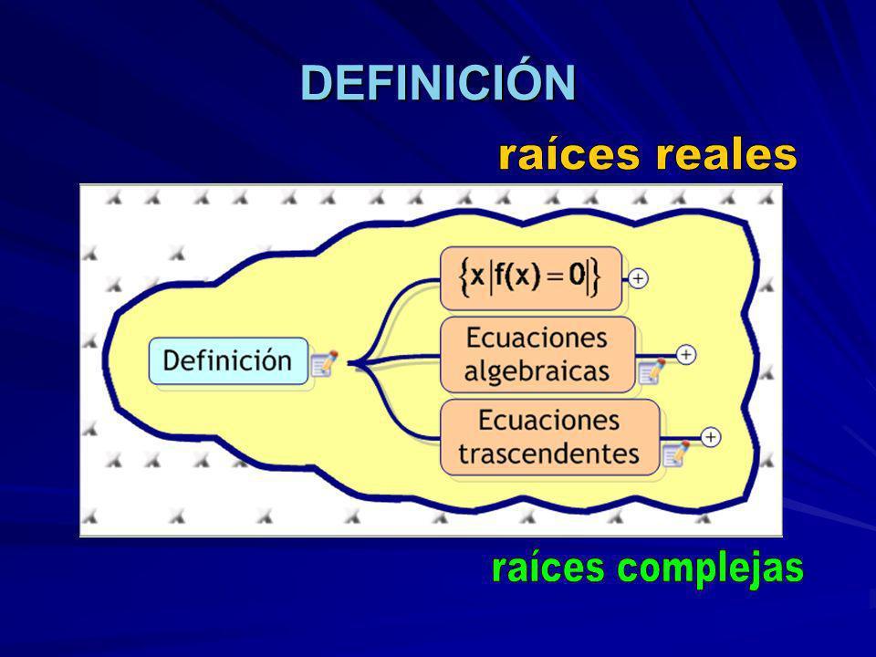 MÉTODO DE NEWTON RAPHSON El método de Newton Raphson se puede deducir a partir de la interpretación geométrica que supone que el punto donde la tangente cruza al eje x es una interpretación mejorada de la raíz.