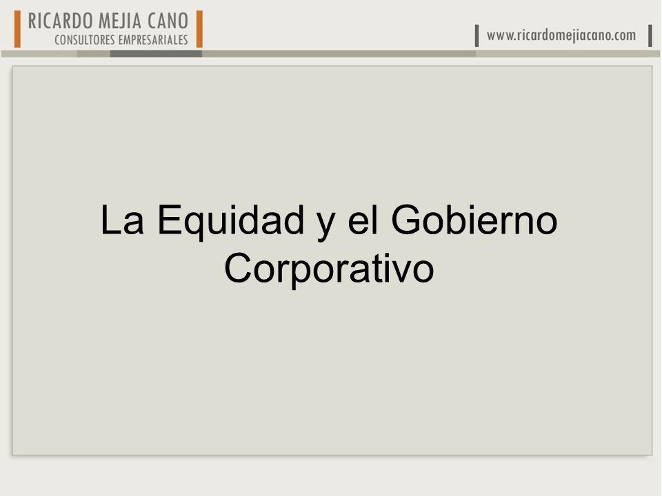 La Equidad y el Gobierno Corporativo