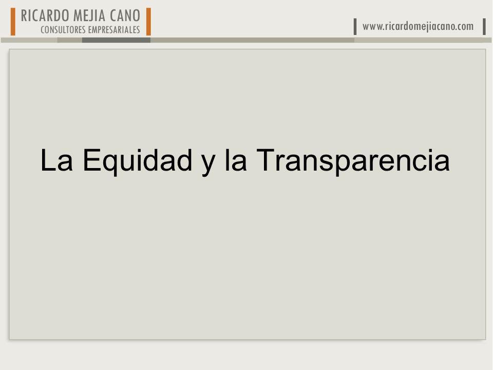 La Equidad y la Transparencia