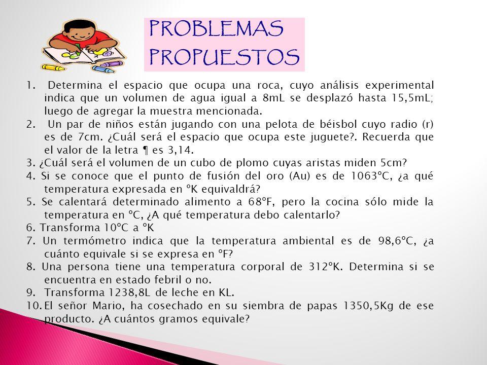 PROBLEMAS PROPUESTOS 1.