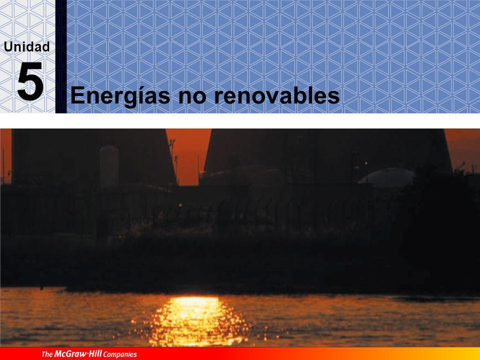 Energías no renovables 5 Unidad