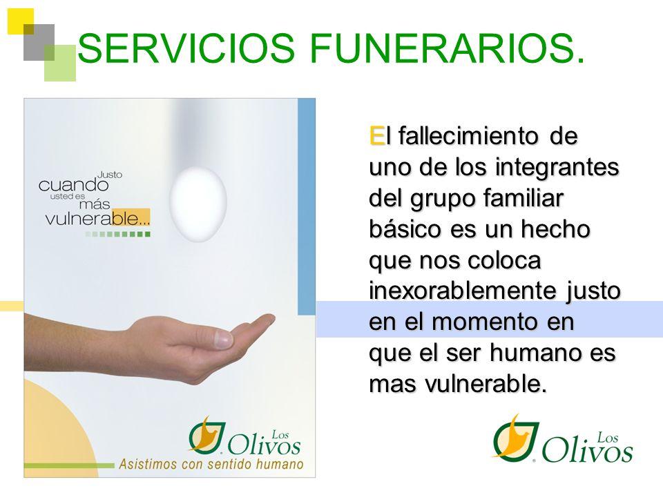 LA SOLIDARIDAD COOPERATIVA Y EL SERVICIO FUNERARIO En el año 1978 un grupo de cooperativistas colombianos, basados en los pilares de solidaridad y ayuda mutua, participaron en la creación de un modelo de empresa reconocido hoy bajo la marca comercial LOS OLIVOS.