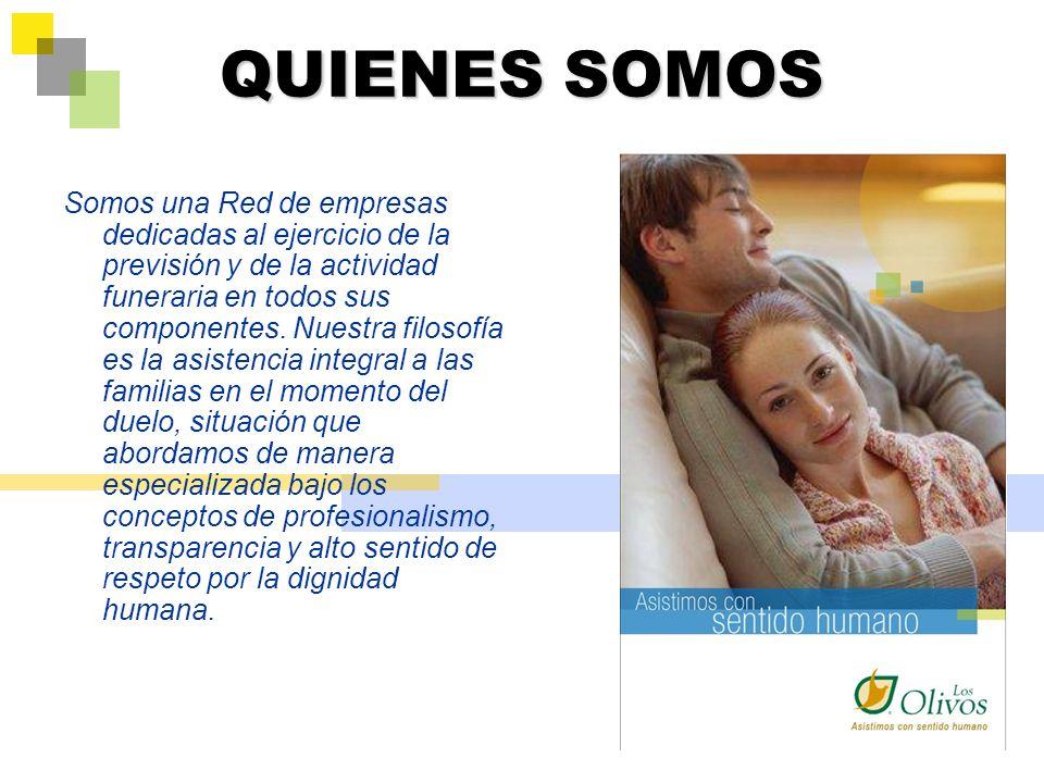 QUIENES SON LOS DUEÑOS Empresas Cooperativas de Colombia dedicadas exclusivamente al ejercicio de la actividad exequial y funeraria.