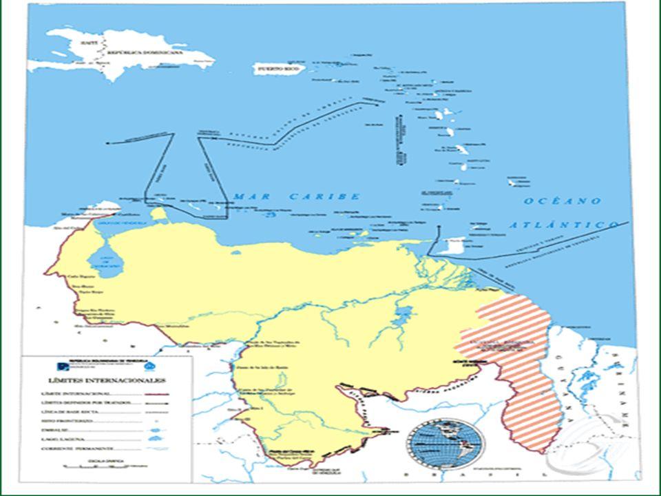 EL ESPACIO TERRITORIAL VENEZOLANO El Estado venezolano en la plataforma continental ejerce derechos de soberanía a los efectos de exploración y explot