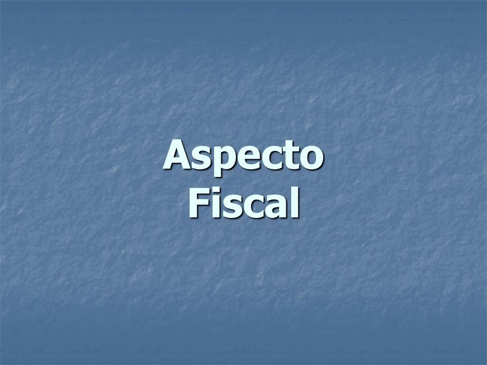Aspecto Fiscal