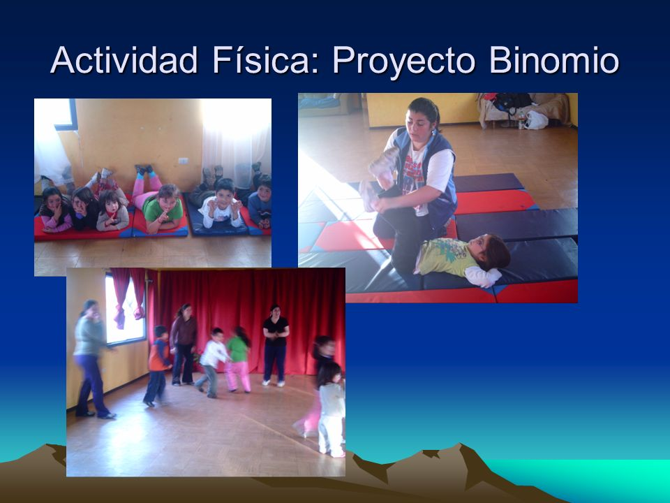 Actividad Física: Proyecto Binomio