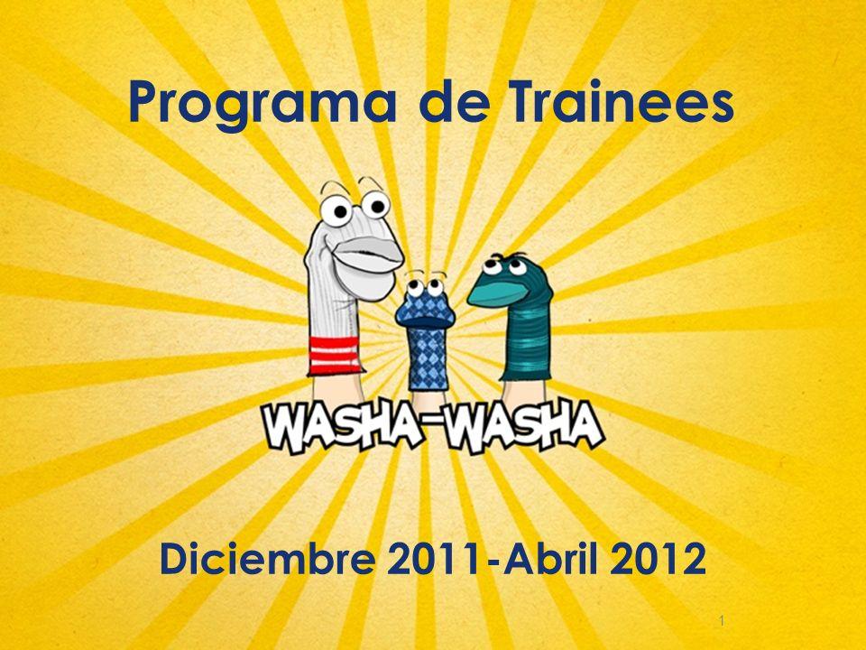 1 Programa de Trainees Diciembre 2011-Abril 2012