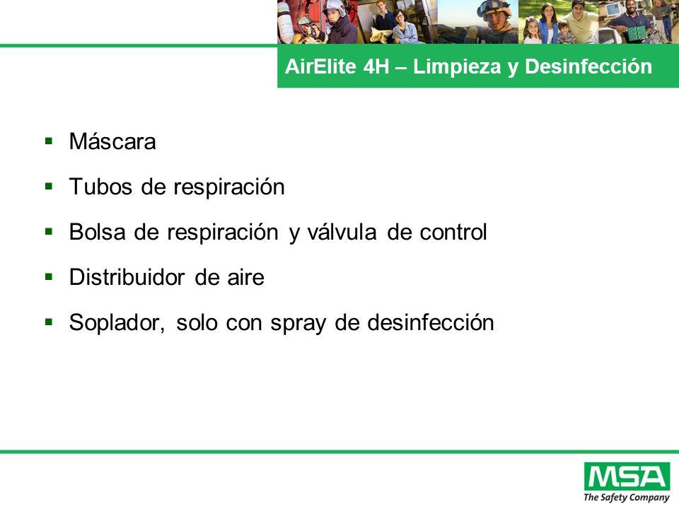 AirElite 4H – Limpieza y Desinfección Máscara Tubos de respiración Bolsa de respiración y válvula de control Distribuidor de aire Soplador, solo con s