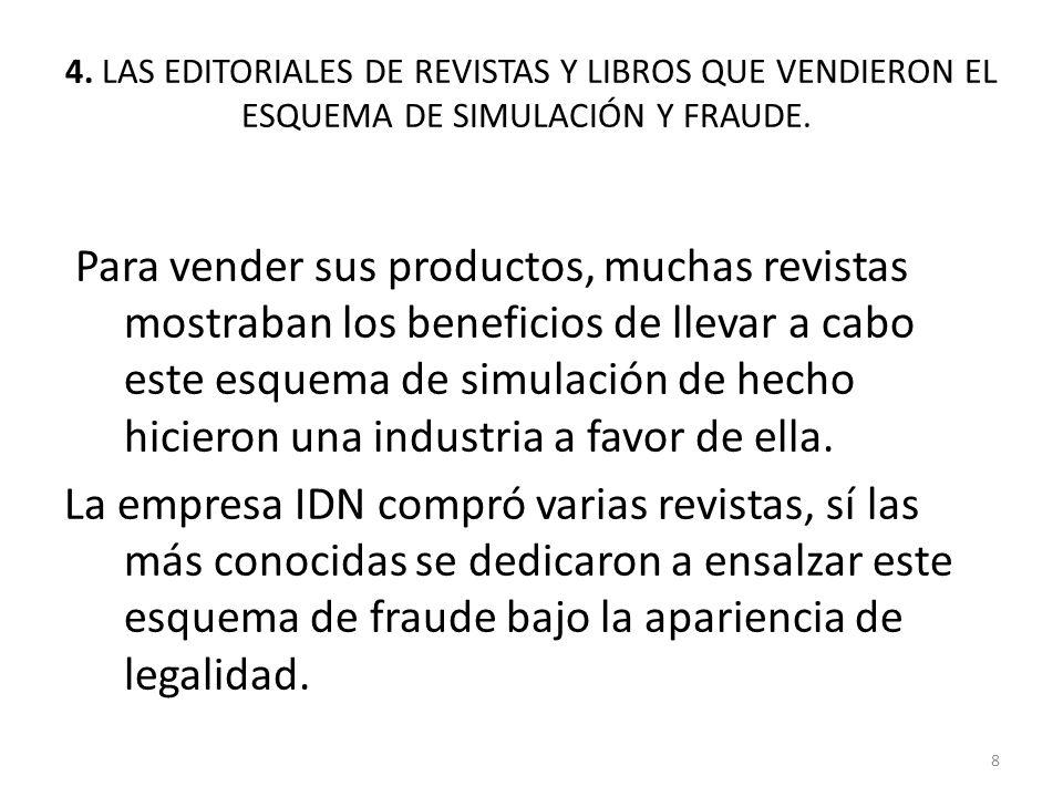 4.LAS EDITORIALES DE REVISTAS.