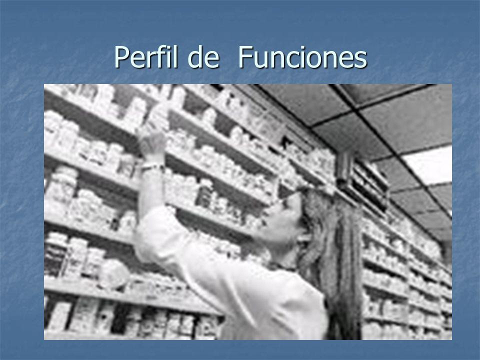 Regente Dispensación de recetas y despacho de medicamentos.