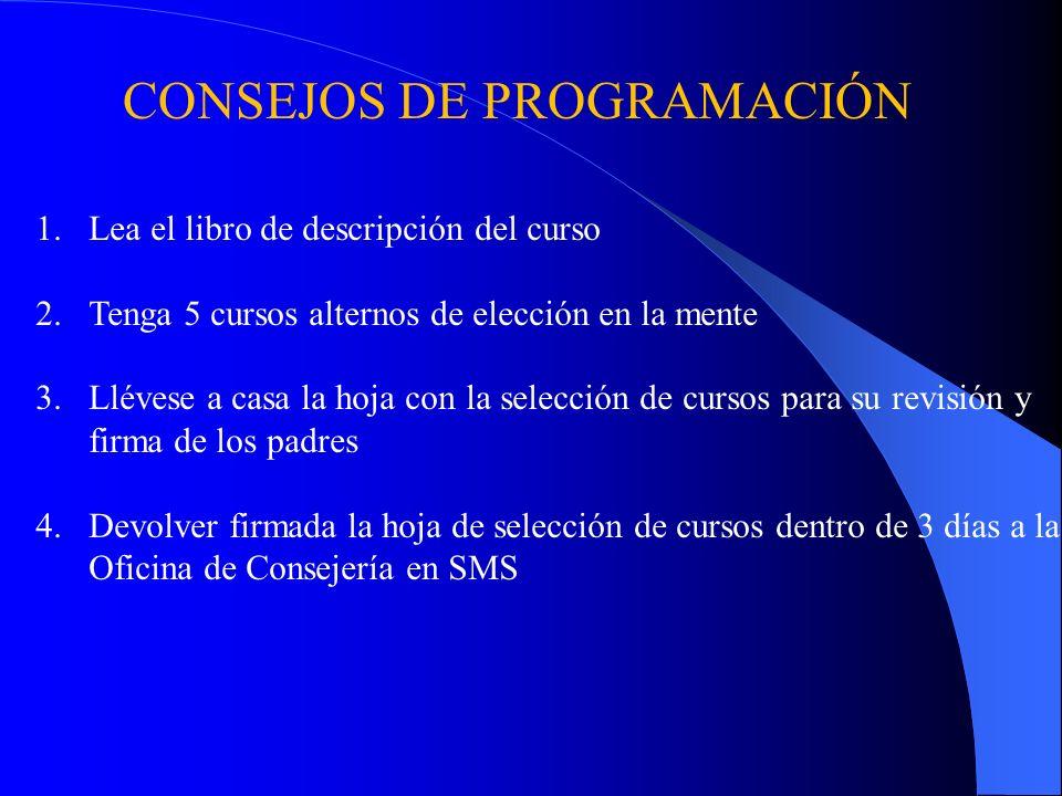 Programa de Noveno Grado Pd. 1 YR Ciencia GeneralB9 Boyle Pd. 2 YR Historia Mundial A215 Clark Pd. 3 YR Inglés 102 A203 Smith Pd. 4/5 S1 Educación fís