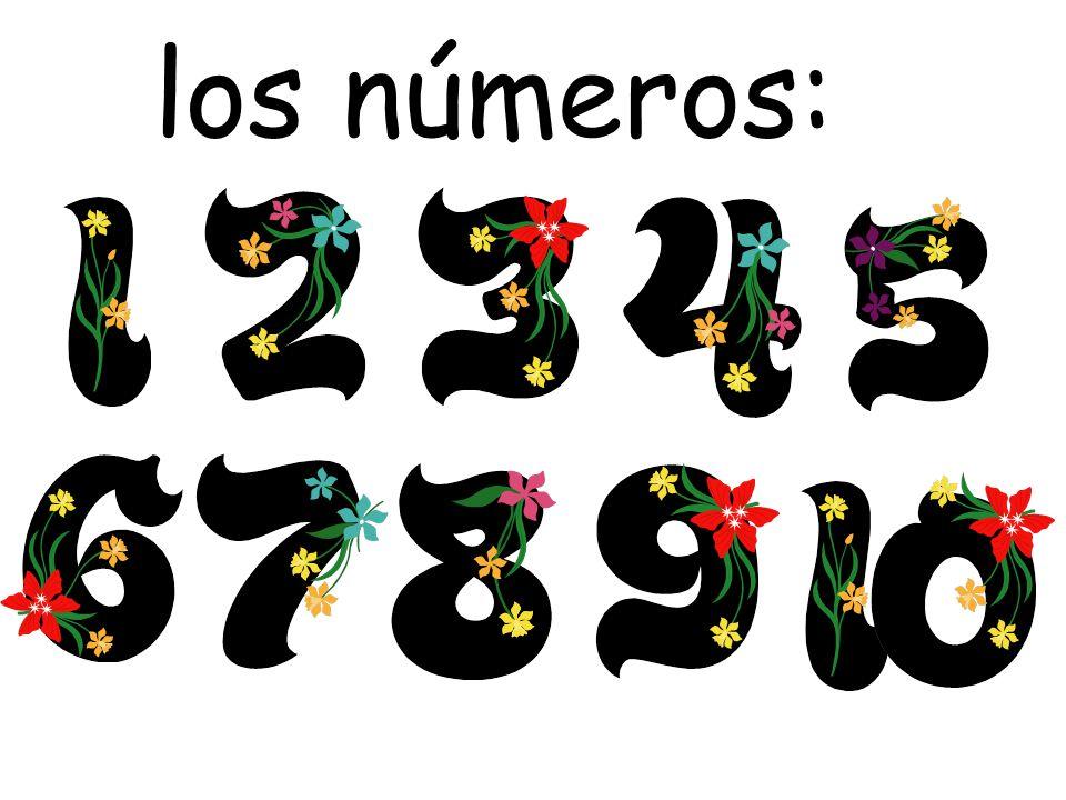 los números: