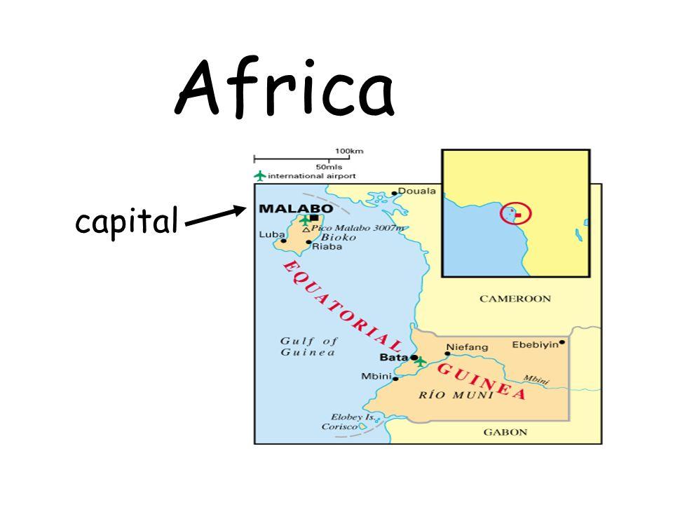 capital Africa