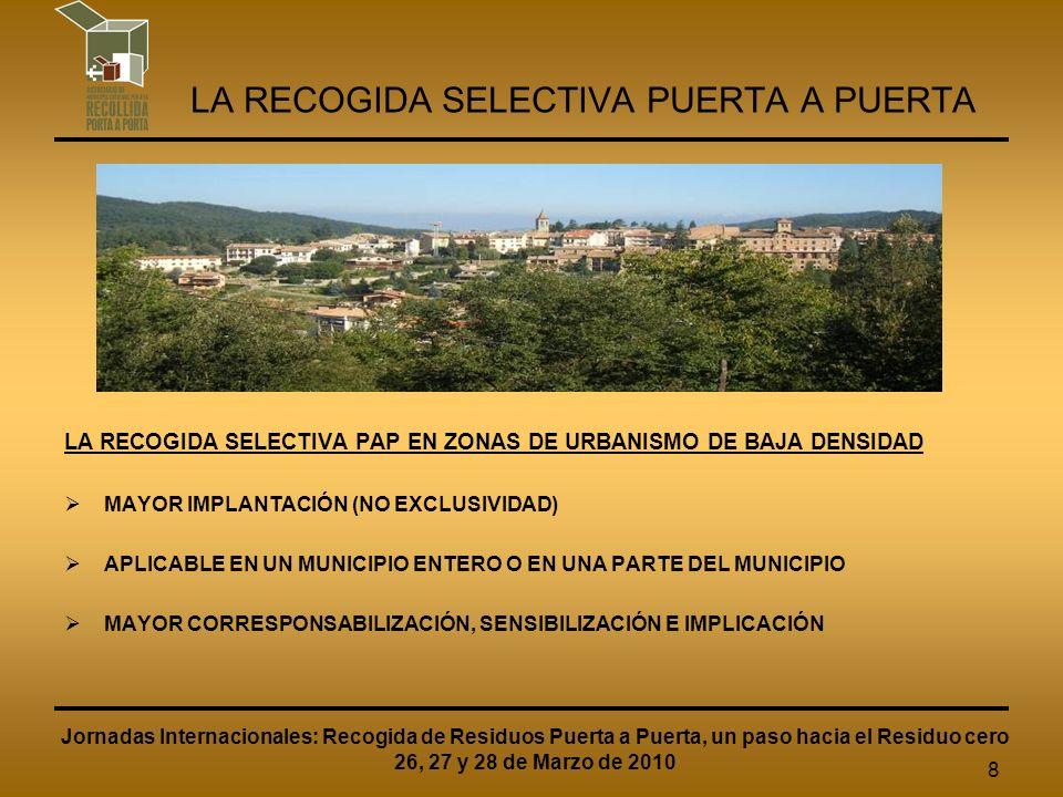 19 ASSOCIACIÓ DE MUNICIPIS CATALANS PER A LA RECOLLIDA SELECTIVA PORTA A PORTA CREACIÓN NUEVA PÁGINA WEB ASSOCIACIÓN Primera fase operativa desde septiembre de 2009.