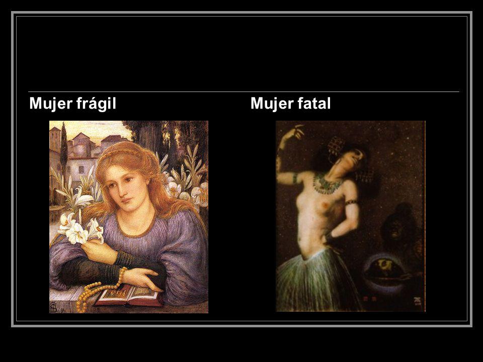 Esta dualidad fue el resultado del discurso antifeminista que se dio en ese momento (desde mediados del XIX, más o menos) y se cimentó fuertemente en el sustrato tan enraizado históricamente por el discurso religioso.