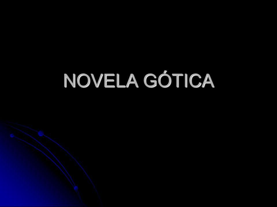 NOVELA GÓTICA