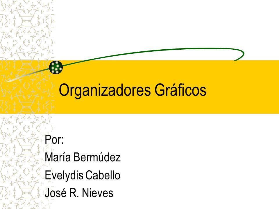 Organizadores Gráficos Por: María Bermúdez Evelydis Cabello José R. Nieves