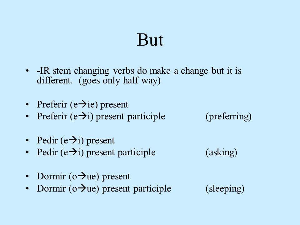 Using pronouns with the present progressive Reflexive pronouns: 1.