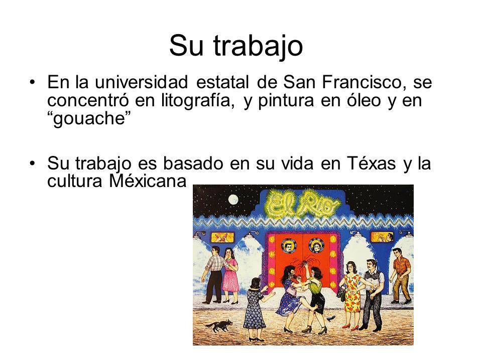 Éxitos y desafíos Tuvo desafíos como la pobreza y ser una pintora hispana en los estados unidos.