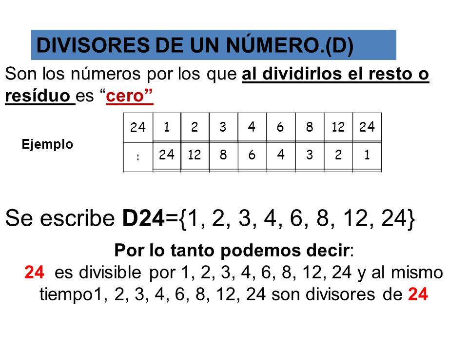 MÍNIMO COMÚN MÚLTIPLO (M.C.M.). El Mínimo Común Múltiplo( M.C.M ) de dos o más números es el menor de sus múltiplos comunes. Ejemplo M(4) = { 4, 8, 12