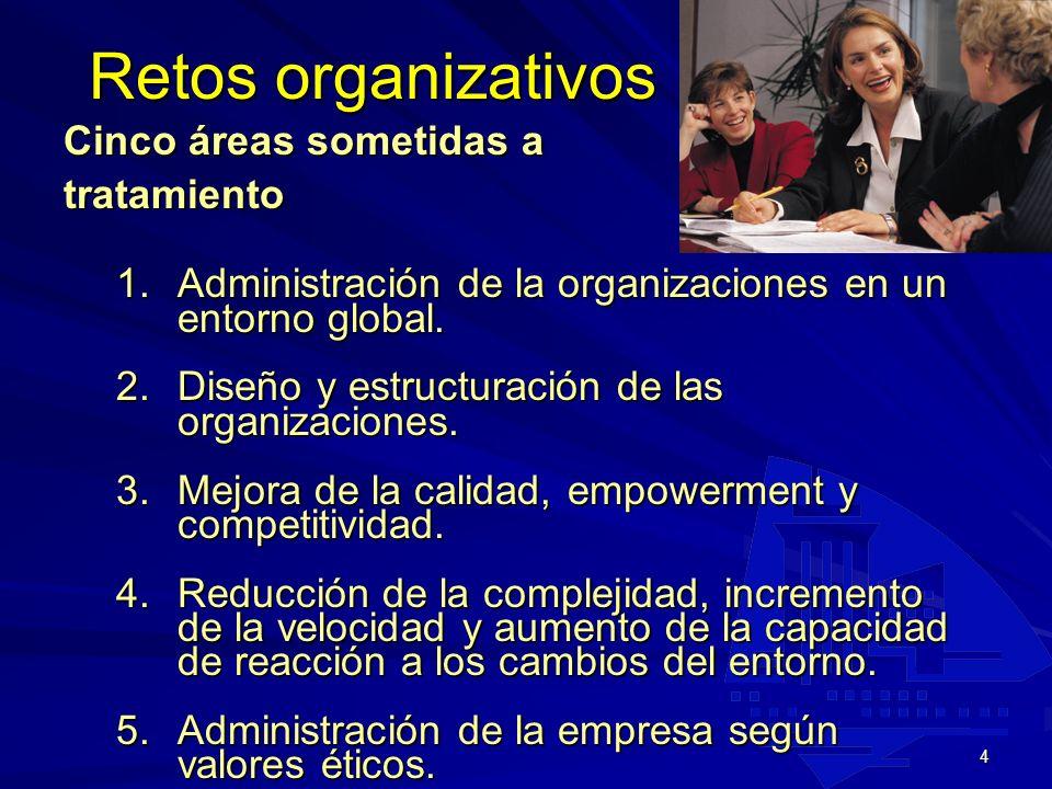3 -Reúne los recursos para alcanzar metas y resultados deseados -Produce BB.y SS con eficiencia -Facilita la innovación -Utiliza la fabricación y tecn
