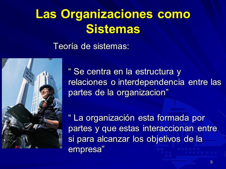 4 Retos organizativos Cinco áreas sometidas a tratamiento 1.Administración de la organizaciones en un entorno global. 2.Diseño y estructuración de las