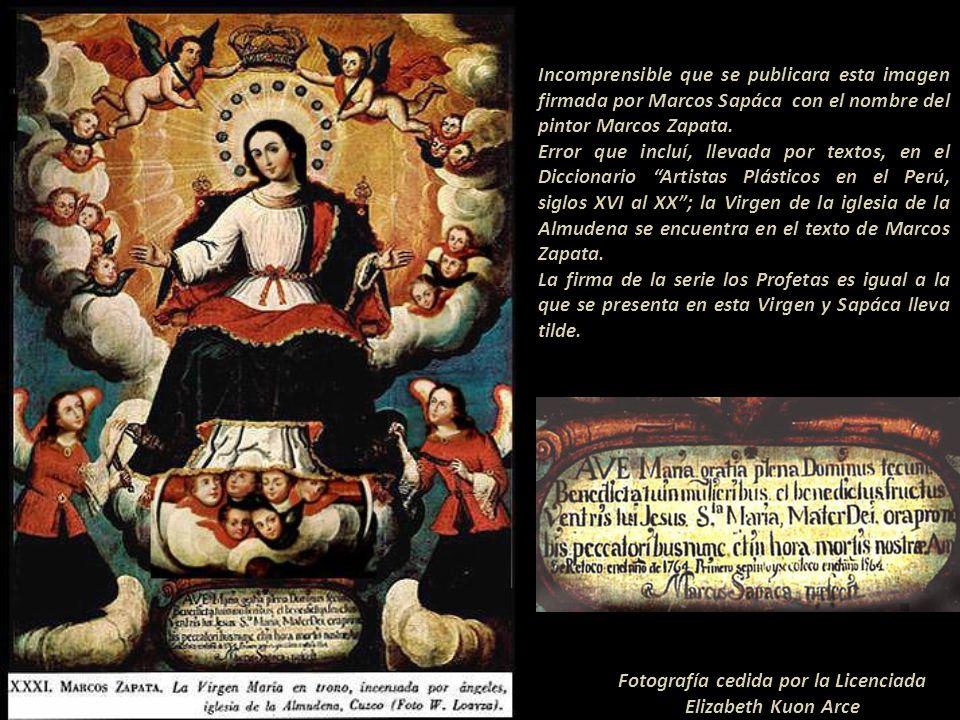 San Vicente de Ferrer M. Sapáca en colección privada